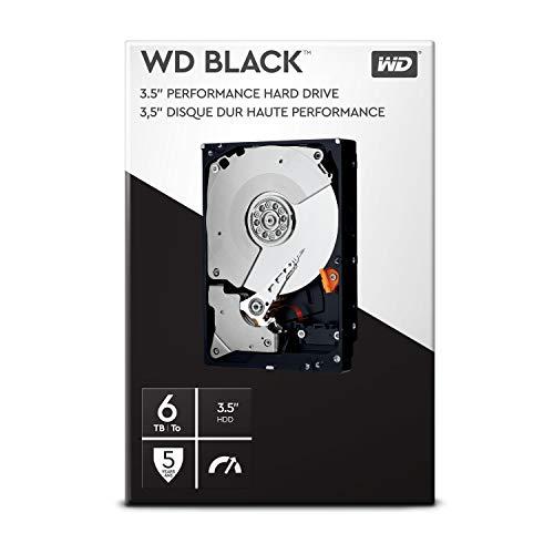 6TB WD Black Desktop 3.5-inch PC Hard Drive