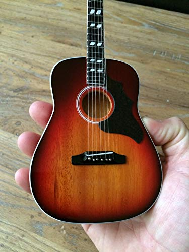 Acoustic Guitar Miniature Model - Heritage Cherry Sunburst Miniature Guitar Replica Collectible