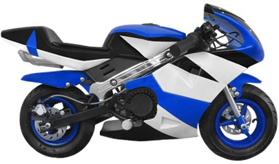 Grand Prix RSR Mini Pocket Bike (Blue)
