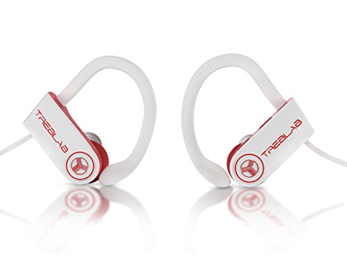 Bluetooth Earbuds TREBLAB XR100, Best Wireless Headphones For Running or Workout, Secure Fit, Sweat-Proof, 9 Hour Battery, True HD Sound