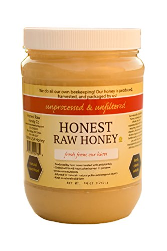 Honest Raw Honey (Raw Honey, 44 oz)