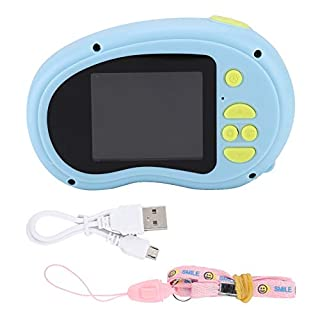 Ichiias Camera Mini Portable 2.0 inch Children's Digital Camera HD 1080P Camera(Blue)