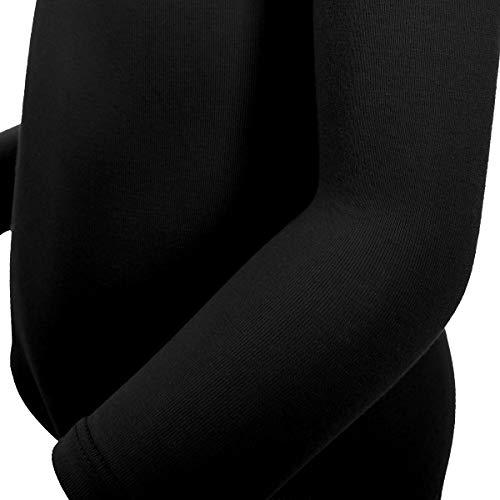 a6533904 MAGIC TOWN Long Sleeve Leotard for Toddler Girls Ballet Dance (2-4,Black