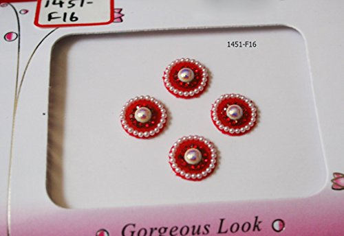 Bengal Collection - Large Pretty Pearl Bindis