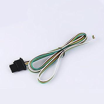 PerGrate 4-Wege Anhänger Kabelbaum 4 Pin Stecker: Amazon.de: Elektronik