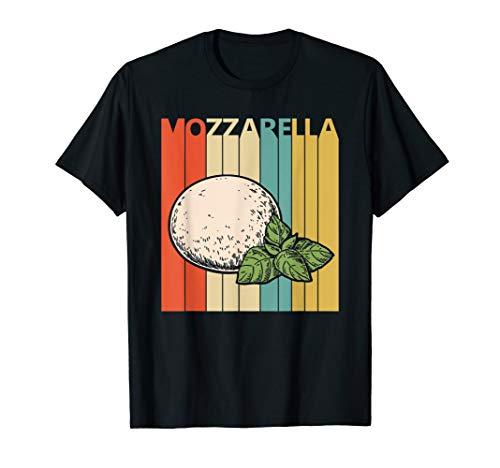 Vintage Retro Mozzarella Cheese T-shirt