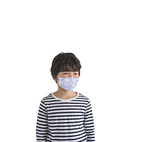医師×タオル職人が考えた kippis ソフトガーゼマスク BOOK シロクマブルー こどもサイズver. 付録