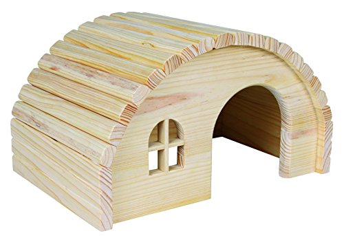 TRIXIE – 61272 – Wooden House – Guinea Pigs House – 1 – Natural.