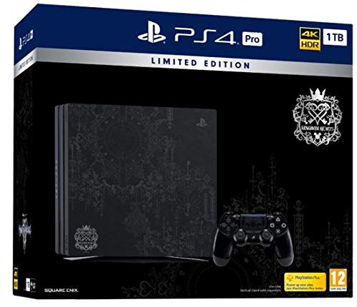 Playstation 4 Pro – Console 1TB + Kingdom Hearts 3 Special Edition – [PAL EU] – [NO NTSC]