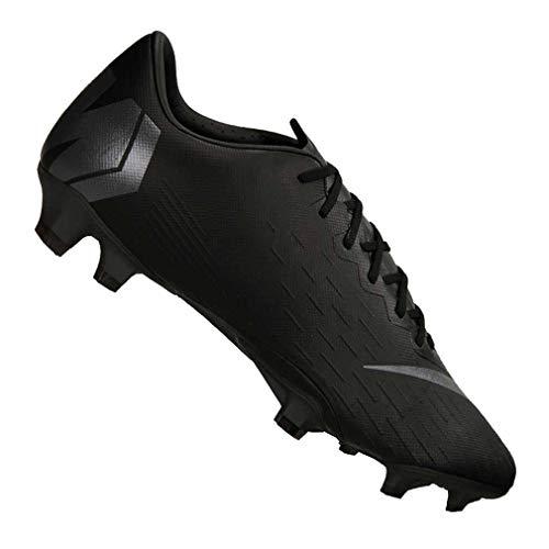 Image of NIKE Mercurial Vapor 12 Pro FG Soccer Cleat (Black) (Men's 10.5/Women's 12)