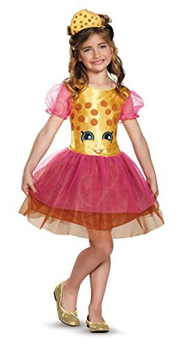 Disguise Kookie Cookie Classic Shopkins The Licensing Shop Costume, Small/4-6X by Disguise