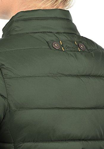 77019 Alto Con She Donna Blend Green Bag Giacca Collo Stagione Mezza Trapuntata Da Duffle Di Cora Giacche angq1nfF