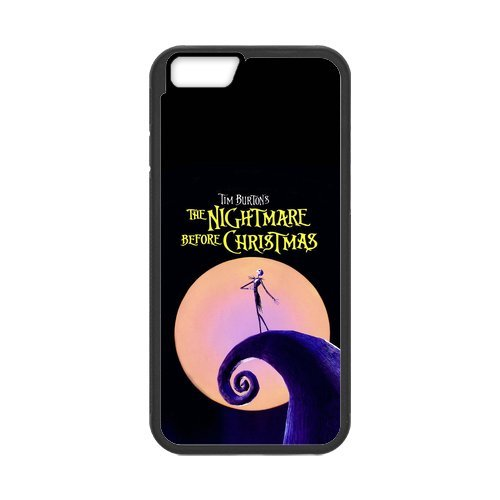 """Fayruz - iPhone 6 Rubber Cases, The Nightmare Before Christmas Hard Phone Cover for iPhone 6 4.7"""" F-i5G303"""
