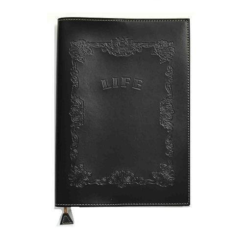 LIFE Noble Notebook Cover A5 Black (Life Notebook)