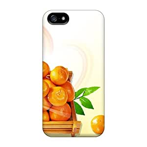 Perfect Cases For Iphone 5/5s/ Anti-scratch Protector Cases (oranges)