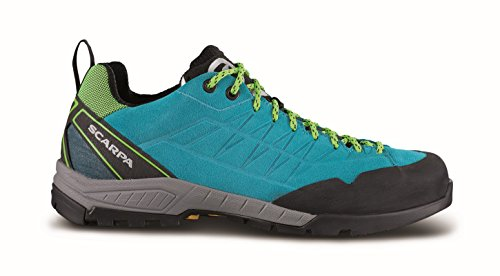 Scarpa Epic Approach Womens Hiking Schuh - SS18 pagoda blue-lime