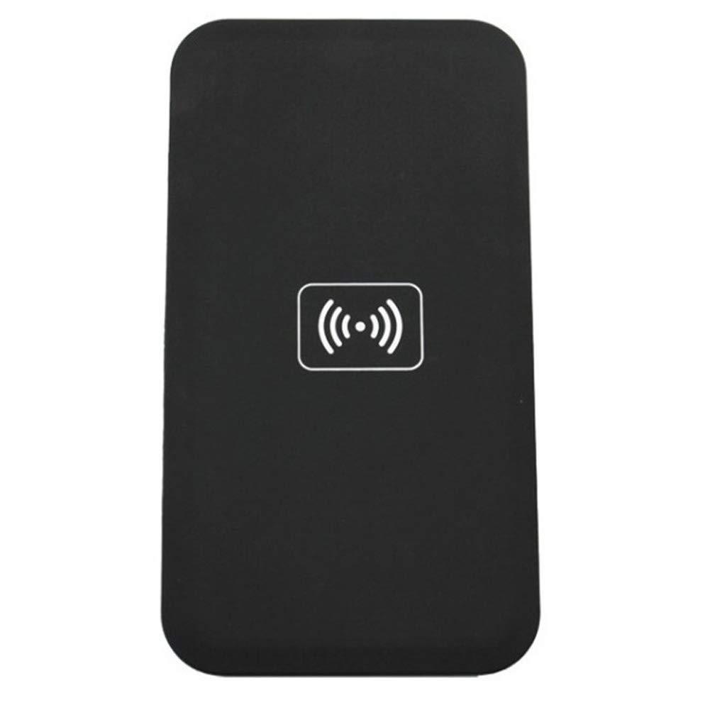 Delleu Cargador inalámbrico para teléfono Universal Cargador inalámbrico de Carga Qi para Todos los Smartphones Qi estándar