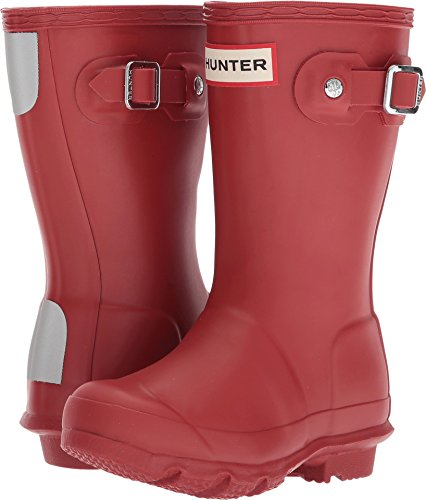 Hunter Kids Unisex Original Kids' Rain Boot (Toddler/Little Kid) Military Red 10 M US Toddler -
