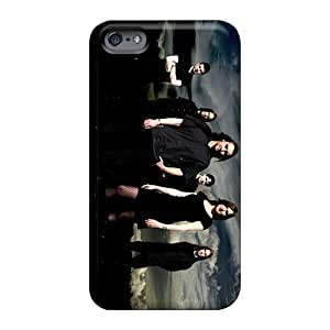 Shock Absorption Hard Phone Cover For Apple Iphone 6 With Support Your Personal Customized Stylish Theatre Of Tragedy Band Pictures Finleymobile77