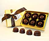 Creek House 12 Piece Organic Vegan Chocolate Truffles, DebutII