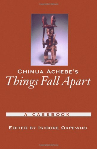 proverbs fall apart essay I am doing my essay on things fall apart by chinua achebe i choice this novel because it has interesting themes such as culture differences, kinship, and.