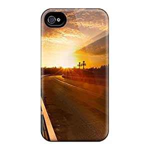 Hot Style LIcgbdO6795ZikSS Protective Case Cover For Iphone4/4s(on The Road Again)