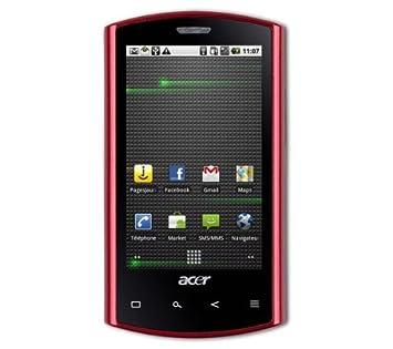 Acer Liquid Glow S100 Rojo - Smartphone (SIM única, GSM, WCDMA ...