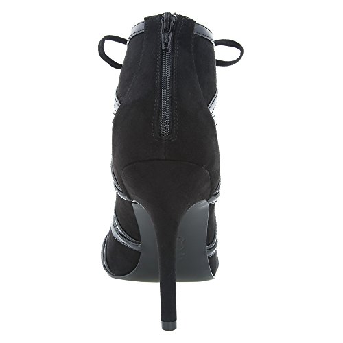 Synthétique Carlyle Nina Talons Nina Carlyle Synthétique Black Talons qxw4z