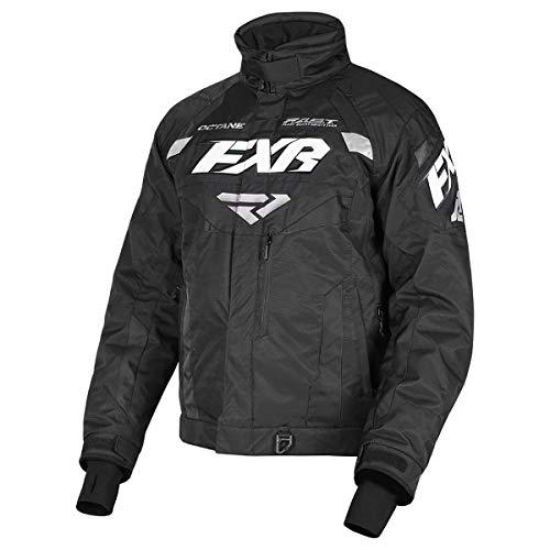 FXR Mens Octane Jacket (Black, 3X-Large)