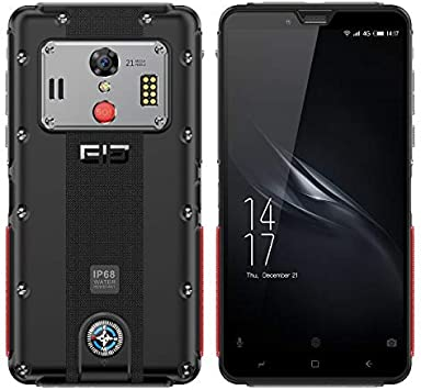 ELEPHONE Soldier Teléfono Móvil Libre, IP68 Android 8.0 (4G LTE ...