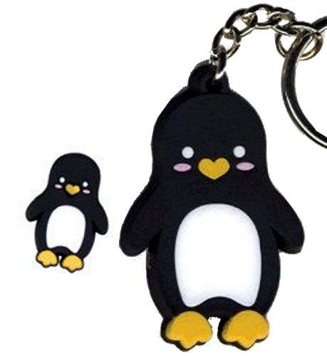 Penguin designed by Krisgoat - Rubber Keychain]()