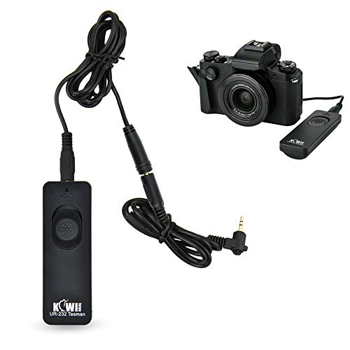 Kiwifotos RS-60E3 Remote Switch Shutter Release Cord for Canon EOS Rebel T6 T7 T5 T3 T7i T6s T6i T5i T4i T3i T2i T1i SL3 SL2 SL1,EOS 90D 80D 70D 77D 60D,EOS RP R M5 M6 Mark II SX70 HS SX60 HS & More from KIWIfotos