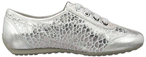 Semler Nele, Zapatillas de Cordones para Mujer Elfenbein (puder)
