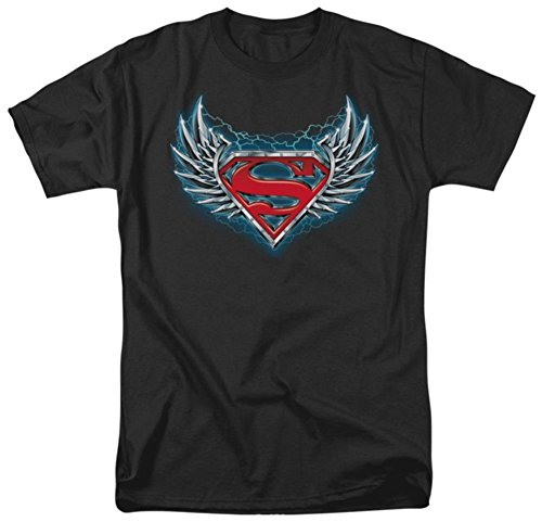 Steel T-shirt Wings (Superman - Steel Wings Logo T-Shirt Size XXXL)