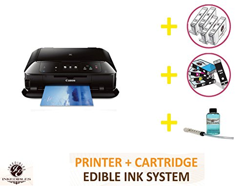 YummyInks Brand Professional Deluxe Package: YummyInks Brand Canon MG7520 Bundled Printing System (includes extras)