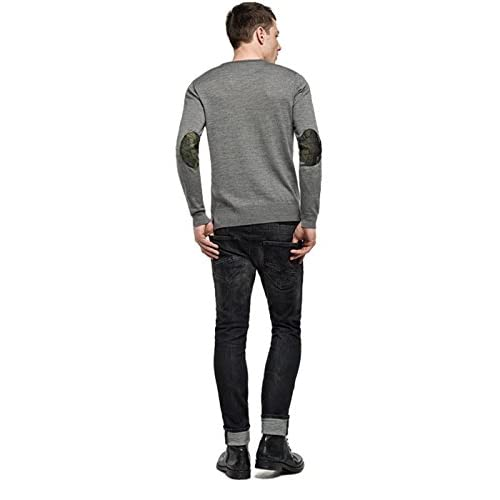 06260d6952 outlet Jersey Replay UK1608922456M06 Coderas Gris - radioperusia.it