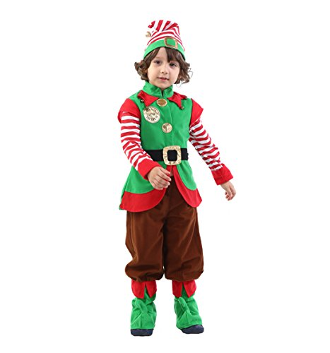 ROMASA Cosplay Children's Simply Elf Costume Set (5-8/120cm)