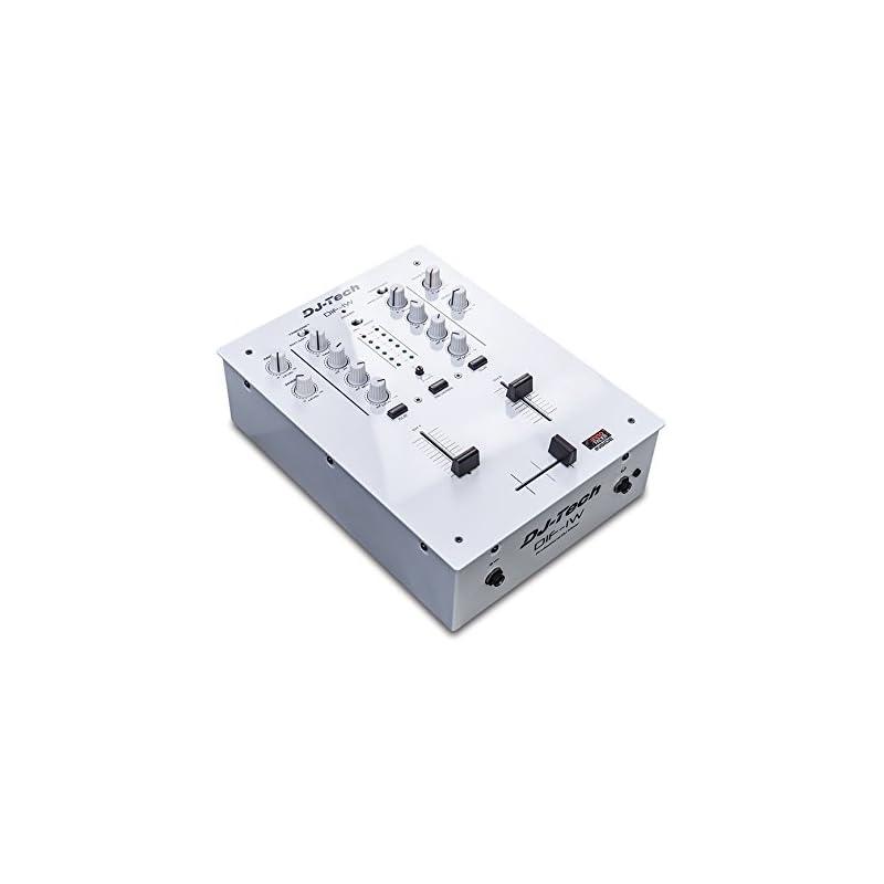 Dj Tech: Dif-1W Mk2 Dj Mixer W/Innofader