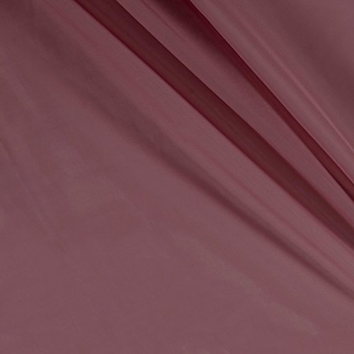 Ben Textiles Chiffon Solid Mauve Fabric by The Yard,