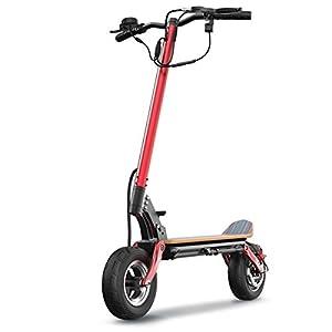 """41zfuqkRQ2L. SS300 Scooter Elettrico, Easy Carry Design 500W 50-60 km a Lungo Raggio, 10"""" Pneumatico Riempito d'Aria, Pieghevole Elettrico Scooter Kick Max Speed 30MPH"""