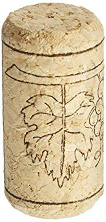 Goege Recycled Wine Corks,Natural Straight Softwood Wine Bottling Corks,Fits Most Bottles,Non-Leak Airtight Seal For Wine Making Craft,Chemical Free - Cheap Calgary Glasses