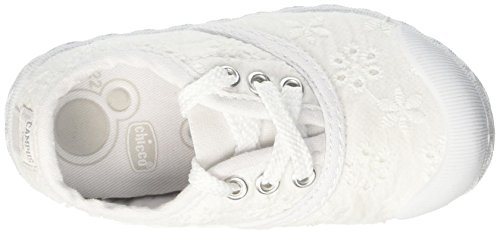 Chicco Cardiff, Sneakers para Bebés Blanco (Bianco)