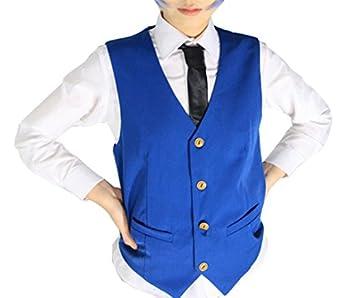 Amazon.com: YSZYZX Boy's Cosplay Japanese Anime Vest Shirt Tie ...