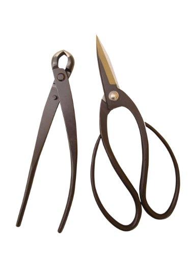 Bonsaiwerkzeugset mit 2 Profi Werkzeugen (Schere und Knospenzange)