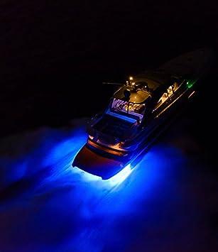 Gfjmc Waterproof Ip68 Led Drain Plug Light 9w Underwater Boat Lights Marine Yacht Led Drain Plug Light For Fishing Swimming Divinng