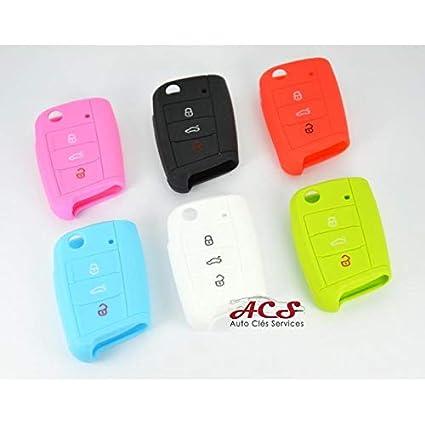 Carcasa para mando a distancia V-W GOLF 7 Polo MK7 3 botones ...