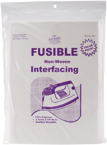 Price comparison product image HTC Fusible Non-Woven Interfacing, 15-Inch by 3-Yard
