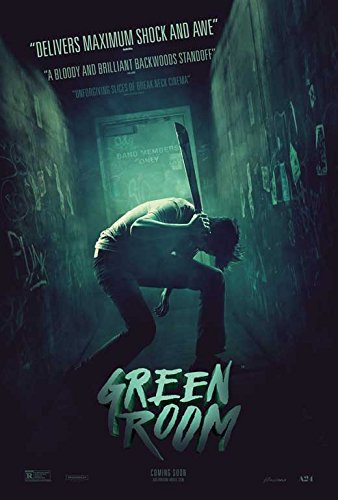 Green Room Movie Poster 11 x 17 Style B Unframed
