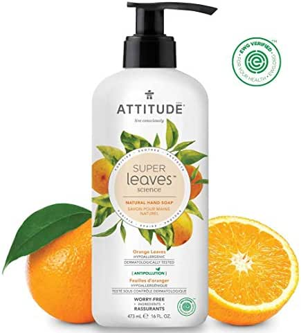 Hand Soap: Attitude Super Leaves