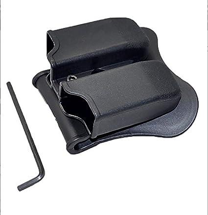 31//32//33 23//26//27 Doble Revista bolsa se adapta a Glock 17//19//22 38//39 34//35//37